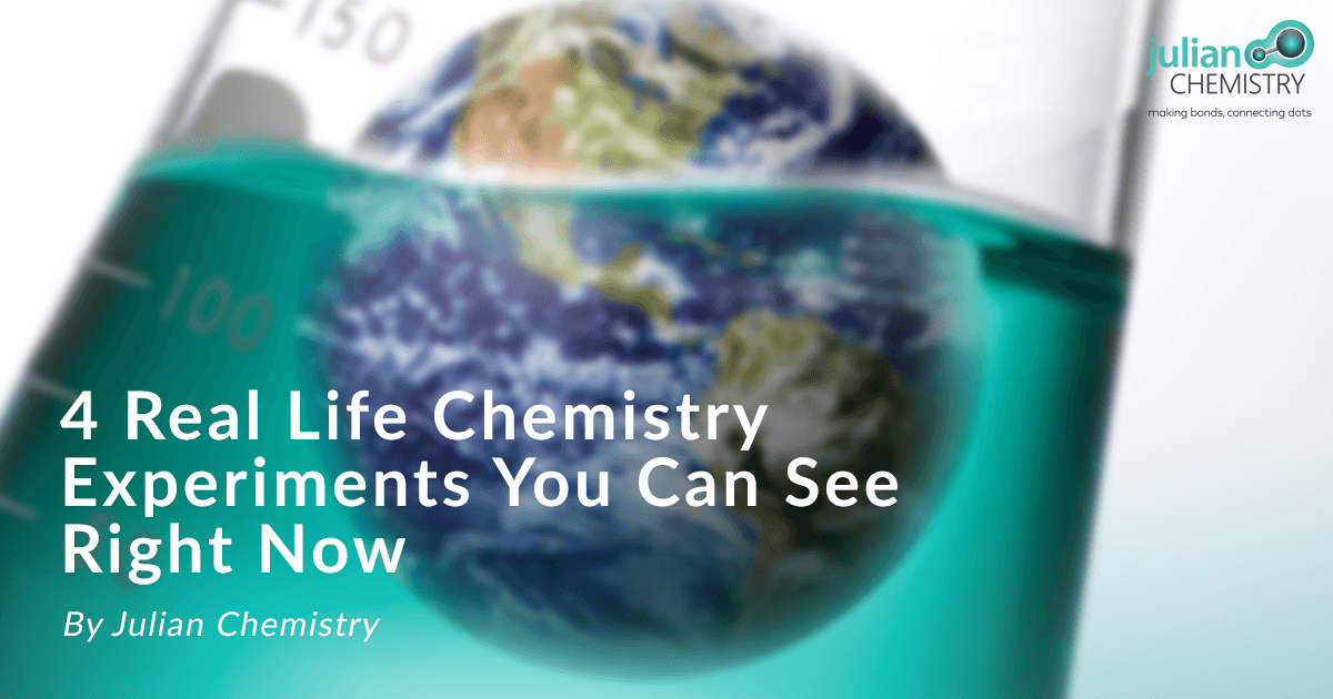 real life chemistry experiments in the world