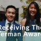 Receiving the Terman Award